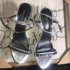 rebecca minkoff Sandal Heel With Rinestones